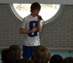 Jurre Otto opent KiKa-actie op basisschool